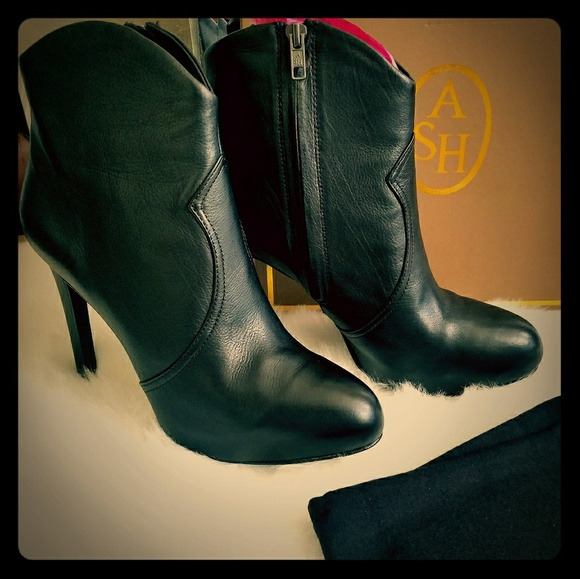Ash Shoes - New Ash leather booties